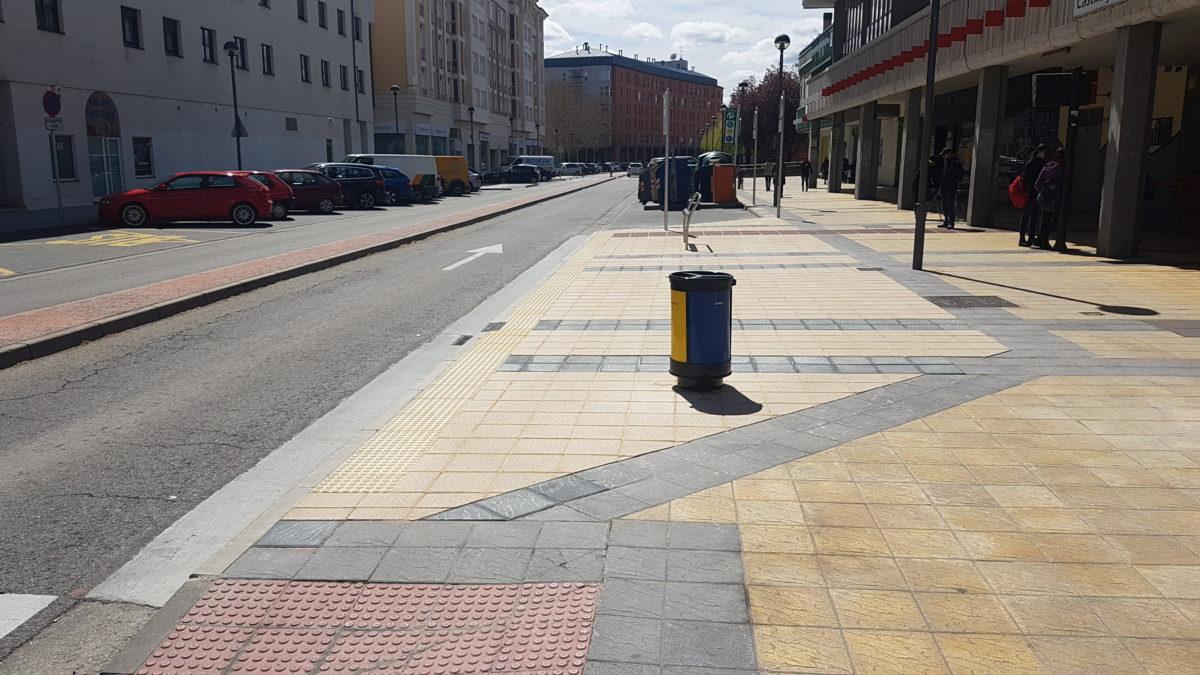 Burgos adecuación de paradas de autobús