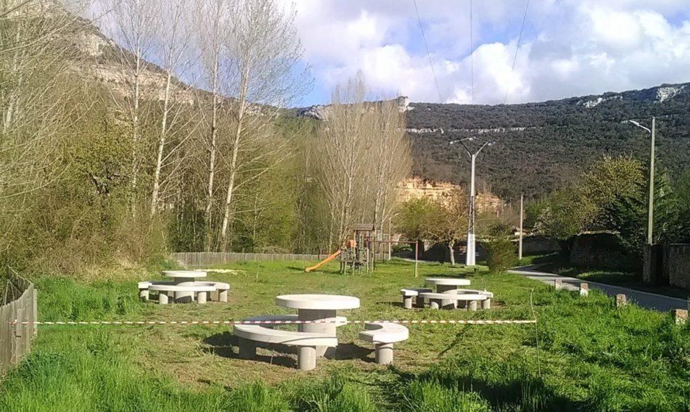 Quintanilla Escalada zona de recreo